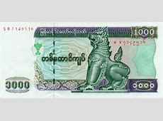 Setting your Budget in Myanmar   Kyat Exchange Rate