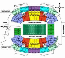 Gillette Stadium Soccer Seating Chart Gillette Stadium Tickets Barry S Tickets