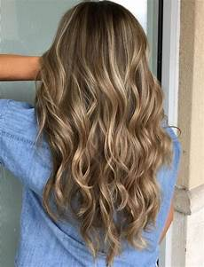 Light Brown Hair With Beige Highlights 50 Hair Color Ideas For The Current Season In 2019