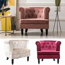 crushed velvet accent cozy armchair tub cuddle chair