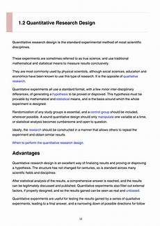 An Example Of A Research Design Research Design Pdf