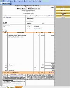 Vat Bill Format In Excel Tax Invoice Format In Excel Vat Forum