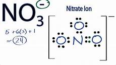 No Ion No3 Lewis Structure How To Draw The Lewis Structure For
