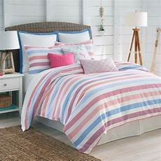striped pink and blue bedding comforter southern tide