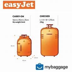 easyjet cabin suitcase easyjet 2020 baggage allowance my baggage