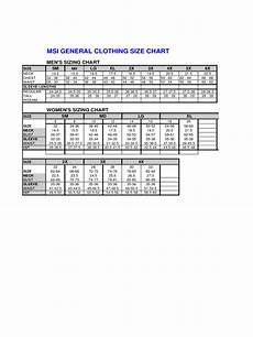 Clothing Size Chart Clothing Size Chart 6 Free Templates In Pdf Word Excel