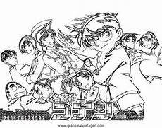 Ausmalbilder Zum Ausdrucken Kostenlos Detective Conan Detektiv Conan Malvorlagen Coloring And Malvorlagan