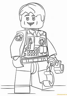 Malvorlagen Free Lego City Undercover Coloring Page Free Coloring Pages