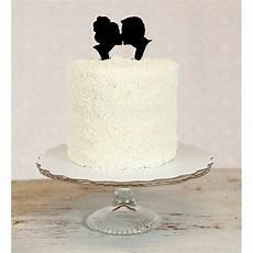 silhouette cake toppers aisle perfect