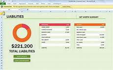 Excel Finance Template Free Net Worth Spreadsheet Template For Excel 2013
