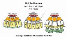 Seating Chart Hill Auditorium Arbor Hill Auditorium Tickets In Arbor Michigan Hill