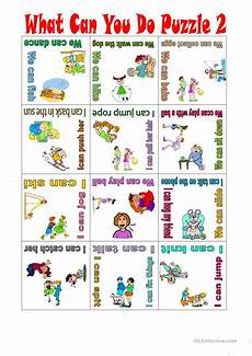 What Can You Do With An Mba What Can You Do Puzzle 2 English Esl Worksheets For