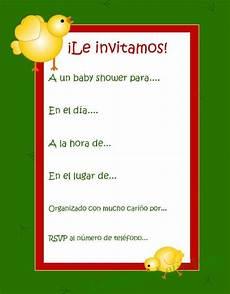 Latin Wording Pollito Spanish Baby Shower Invitation Printable Baby