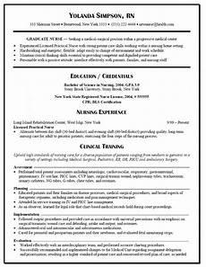 Rn Skills Resumes Graduate Nurse Resume