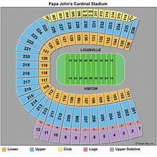 Uofl Cardinal Stadium Seating Chart Louisville Cardinals Football Tickets 2018 Schedule