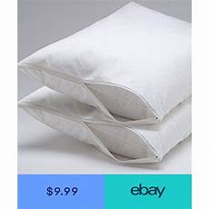 hypoallergenic bed bug dust mite pillow protector zipper