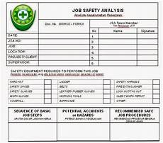 Job Safety Analysis Examples Quality Control And She Engineering June 2014