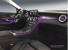 C Class Ambient Lighting 2019 64 Colors Ambient Light For Mercedes C Class W205 2019 Glc