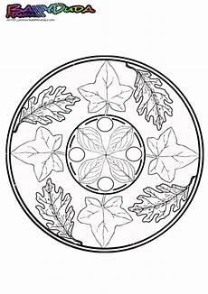 herbst mandala ausmalbilder und malvorlagen