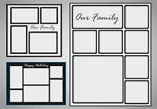 Picture Collage Templates Free Download Photo Collage Template Vector Set Download Free Vectors