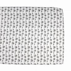 grey elephant cot bed fitted sheet and baby bedding