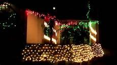 Christmas Lights Pepper Drive El Cajon Christmas Lights On Pepper Drive 2010 Youtube
