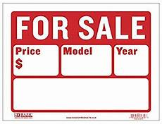 For Sale Car Sign Template Quot For Sale Quot Sign On Moving Vehicles Illegal Fct Vio Car
