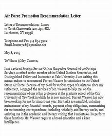 Letter Of Recommendation For Promotion 7 Sample Promotion Recommendation Letter Free Sample