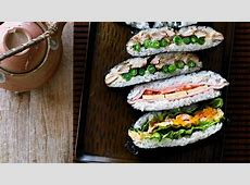 Adam Liaw: how to make sushi sandwiches