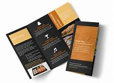 Cool Brochure Templates Cool Sushi Brochure Template Mycreativeshop
