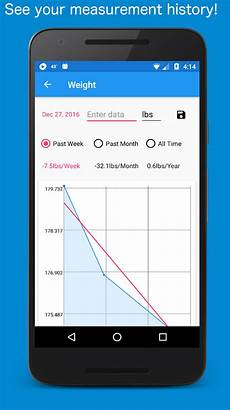 Track Body Measurements App Body Measurement Body Fat And Weight Loss Tracker