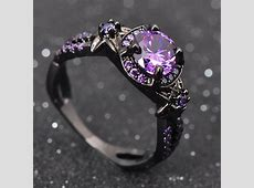 Black Gold Amethyst Ring   The Needed Necklace