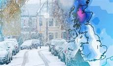 Snow Chart 2017 White Christmas 2017 Latest Snow Charts Show Temps