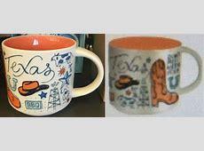 Been There ? Texas ? Starbucks Mugs