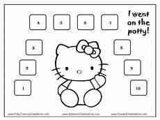 Hello Kitty Potty Training Chart Hello Kitty Potty Training Charts Potty Training Chart