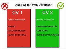 Cv Interests Section Personal Interests Cv