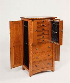 48 quot deluxe flush mission jewelry armoire amish valley