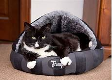 aristocat dome cat bed black chelsea cats