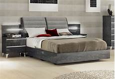 lacquered made in italy wood elite platform bed with