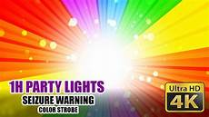 Epilepsy And Bright Lights Best Disco Party Light Strobe Effect 4k Seizure