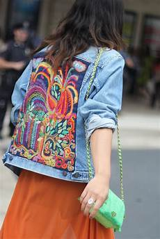 embroidery denim a bright embroidered denim jacket steeze