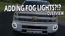 Diy Fog Lights 2014 2018 Fog Light Harness Overview Silverado Sierra