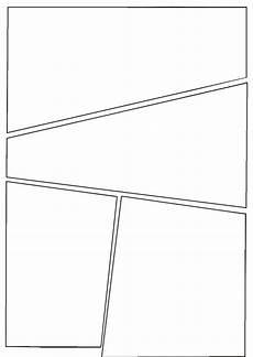 Blank Comic Book Panels Comic Template To Use Comic Template Comic Book