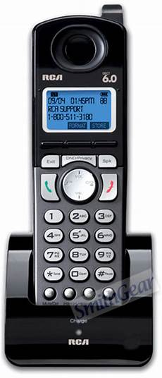 Rca 25055re1 Dect 6 0 Cordless Handset Accessory For