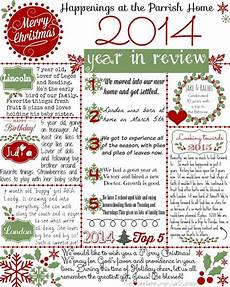 Christmas Family Newsletter Templates Free Christmas Letter Get Your Free Quot 2014 Year In Review