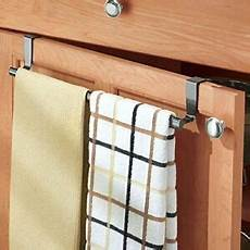 expandable towel bar the cabinet door drawer hanging