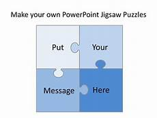 Make Your Own Presentation Make Your Own Powerpoint Jigsaw Puzzles шаблон Online