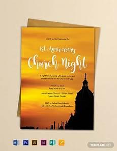 Church Invitations Free Church Invitation Template Word Doc Psd
