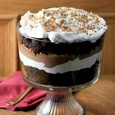easy chocolate caramel trifle thebestdessertrecipes