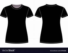Tshirt Design Template Black T Shirt Design Template Royalty Free Vector Image